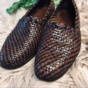 Vintage Cole Haan woven shoes